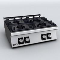 BẾP ÂU 4 HỌNG DÙNG GAS C-G740