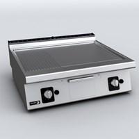 BẾP CHIÊN BỀ MẶT NỬA NHÁM NỬA PHẰNG DÙNG GAS FT-G710 V L+R