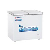 Tủ đông mát 2 cửa nắp đỡ Alaska BCD-3067N