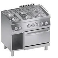 Bếp âu 6 họng có lò nướng điện Line 600 ATA K6MCU15FF