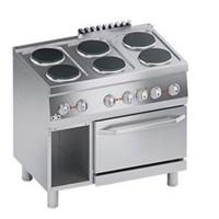 Bếp âu điện 6 họng có lò nướng line 600 ATA K6ECU15FF