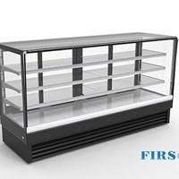 Tủ trưng bày bánh kính vuông Firscool DSF2400