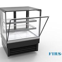 Tủ trưng bày bánh kính vuông Firscool DSFL900