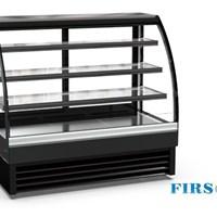 Tủ trưng bày bánh kính cong Firscool DS1800-27