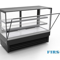 Tủ trưng bày bánh kính vuông Firscool DSFL1800-27