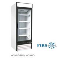 Tủ mát 1 cánh kính cửa kéo FIRSCOOL HC-HGD-26R