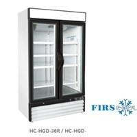 Tủ mát 2 cánh kính cửa kéo FIRSCOOL HC-HGD-36R