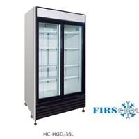 Tủ mát 2 cánh kính cửa trượt FIRSCOOL HC-HGD-36L