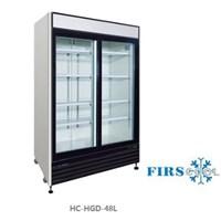 Tủ mát 2 cánh kính cửa trượt FIRSCOOL HC-HGD-48L