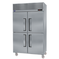 Tủ mát đứng 4 cánh inox SSEISO ARR-1400
