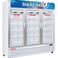 Tủ mát 3 cánh kính Darling DL-17000A
