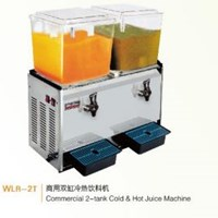 Máy làm nước trái cây nóng lạnh 2 bình Wailaan WLR-2T