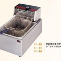 Bếp chiên nhúng 1 bồn 1 rổ Wailaan EF-80
