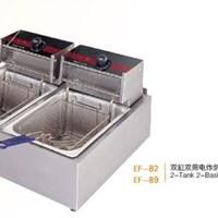 Bếp chiên nhúng 2 bồn 2 rổ Wailaan EF-82