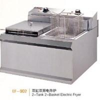 Bếp chiên nhúng điện 2 bồn 2 rổ Wailaan EF-902