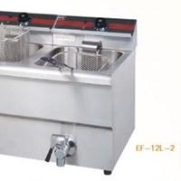 Bếp chiên nhúng điện 2 bồn 2 rổ Wailaan EF-12L-2
