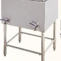 Bếp chiên nhúng chạy điện 2 bồn 2 rổ Wailaan EF-85