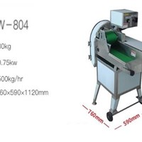 Máy thái thịt chín TW-804