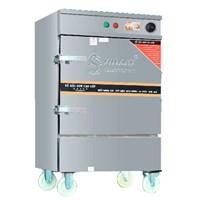 Tủ Nấu Cơm Điện 8 Khay Hẹn Giờ Atomat Và Chế Độ Ủ Giữ Nhiệt OKASU VI-D8KHU