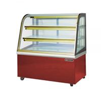 Tủ trưng bày bánh nóng kính cong HDW09GM13-2