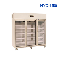 Tủ mát 3 cánh kính Heli HYC-1500