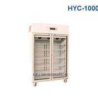 Tủ mát 2 cánh kính Heli HYC-1000