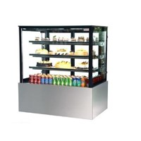Tủ trưng bày bánh kem kính vuông 0.9m Ratiox SL830V