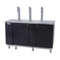 Tủ mát 3 vòi rót bia Everzen UDS-18BDIE