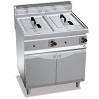 Bếp chiên nhúng có tủ dưới Bertos GL10+10M