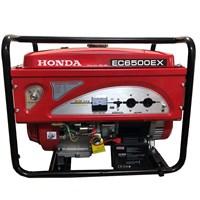 Máy Phát Điện Honda Chạy Xăng 5kw EC6500EX Đề