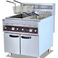 Bếp chiên nhúng dùng điện 2 hố 4 rổ 56L DF-26-2