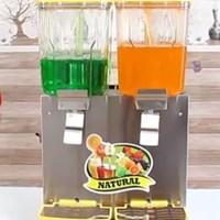 Máy làm lạnh nước trái cây 2 ngăn dạng phun