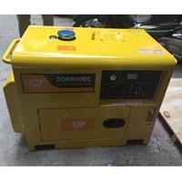 Máy Phát Điện Samdi Chạy Dầu Diesel SD6800EC