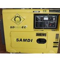 Máy Phát Điện Diesel SAMDI SD6500EC Chống Ồn