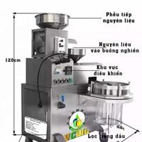 Máy ép dầu VCoil KD03 1 bầu lọc công suất ép 20-25kg/giờ